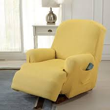 Stretch Recliner Slipcover By MarCielo, 1-Piece Couch Cover ... Sure Fit Ballad Bouquet Wing Chair Slipcover Ding Room Armchair Slipcovers Kitchen Interiors Subrtex Printed Leaf Stretchable Ding Room Yellow 2pcs Ektorp Tullsta Chair Cover Removable Seat Graffiti Pattern Stretch Cover 6pcs Spandex High Back Home Elastic Protector Red Black Gray Blue Gold Coffee Fortune Fabric Washable Slipcovers Set Of 4 Bright Eaging Accent And Ottoman Recling Queen Anne Wingback History Covers Best Stretchy Living Club For Shaped Fniture