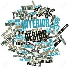 100 Words For Interior Design Abstract Word Cloud For Design With Related Tags And