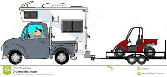 Truck With Camper Towing ATV's Stock Illustration - Illustration Of ... Wind Blows Over Truck Camper On Inrstate 15 News Mtstandardcom Camping Trailer Family Caravan Traveler Truck Camper Outline What You Need To Know Before Tow Choosing The Right Tires For Amerigo Restoration Resurrecting A 1970s Northstar Flatbed Quad Cab Hq My First Rv 101 Your Education Source Information Build Your Own Or Glenl Plans Tacoma World The Toad Extreme Towing Magazine Chevrolet With Over Avion On Exquisite Would Do Slide In Expedition Portal Recreation Vehicle Industry Association Photo Gallery
