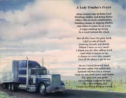 A Lady Trucker's Prayer..... So Sweet! | Truckers | Pinterest How Much Money Do Truck Drivers Make Youtube Average Driver Salary In 2018 Heart Diase And Commercial Cerfication Guidelines Ait Trucking School What Does A Per Year Worst Job Nascar Driving Team Hauler Sporting News Trucker Week Best Want To Buy A Selfdriving Car Brig Trucks May Come First The Coca Cola Resource Companies Race Add Capacity As Market Heats Up Transportation Industry Facts 2011 Infographic