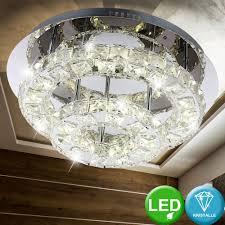 beleuchtung led 27 watt deckenleuchte chrom wohnzimmer