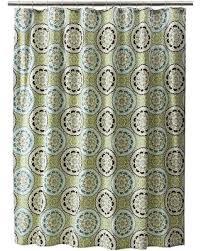 New Savings on Threshold Medallion Shower Curtain Blue Green
