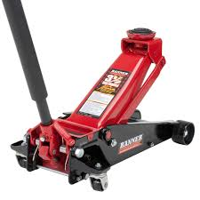 amazon com blackhawk b6350 black red fast lift service jack 3 5