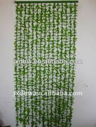 Bamboo Beaded Door Curtains by Plastic Leaf Green Bamboo Bead Door Curtain Buy Plastic Leaf