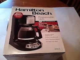 Hamilton Beach 12 Cup Programmable Coffeemaker Black 49615