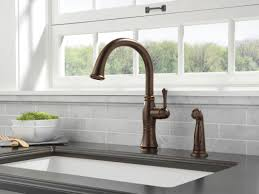 Delta Oiled Bronze Kitchen Faucet by Faucet Com 4297 Ar Dst In Arctic Stainless By Delta