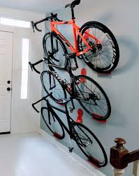 Racor Ceiling Mount Bike Lift by Multiple Bikes Hanging Rack System Dahanger Dan Pedal Hook