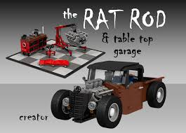 LEGO IDEAS - Product Ideas - Rat Rod & Garage