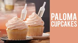 How To Make Paloma Cupcakes