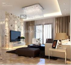 Lounge Ceiling Lighting Ideas 2018 Modern Minimalist Lamps Crystal Bedroom For Light Living Room