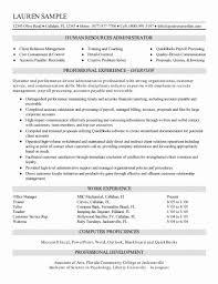 Payroll Administrator Resume Sample Job Description Sarahepps