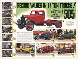 1936 Dodge 1-1/2 Ton Trucks Brochure/Mailer | Brochures, Dodge ...