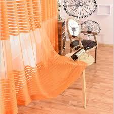 luxus europäischen orange farbe gardinen für balkon