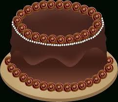 chocolate cake clip art black and white danaspai top clipartix