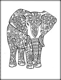Elephant Coloring Sheets To Print