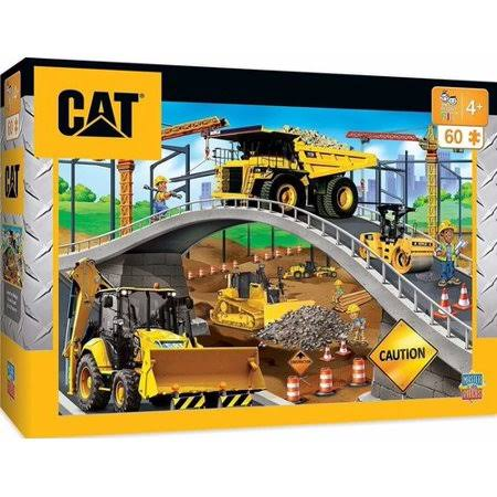 MasterPieces Caterpillar Cat Under The Bridge Floor Puzzle - 60pcs