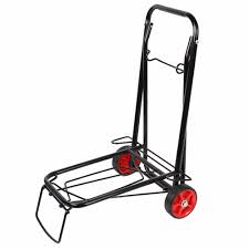 110 Lbs Lightweight Folding Hand Truck Cart Trolley For Hotel Home ... Norris 200 Jet Set Folding Hand Truck Walmartcom Portable Stair Climbing Cart Climb Dolly With Upcart Lb Capacity Lift Truckmphd1 The Home Depot Telescopic Sack Workplace Stuff Irton 150lb Northern Tool Best Trucks On Market Dopehome Alinum 3 In 1 1000lbs Convertible Compact Parrs Equipment Harper 150 Truckhmc5 R Us Red Baron Item Fw80a Cosco Shifter Mulposition And Multiple Wesco Superlite