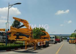 Xcmg 20ft Truck Mounted Crane Container Side Lifter With Max 37 Tons ...