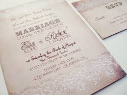 Chic Romantic Wedding Invitations Plumegiant
