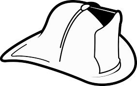 Pin Fire Truck Clipart Firefighter Hat 3