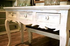 Narrow Sofa Table With Storage by Bedroom Charming Solid Wood Distressed Off White Sofa Table
