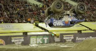 100 Monster Truck World Finals Lee ODonnell Lands First Front Flip In History Winning Jam