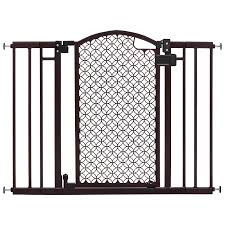 Summer Infant Decorative Extra Tall Gate by Summer Infant Modern Home Hardware Mounted Safety Gate Brown