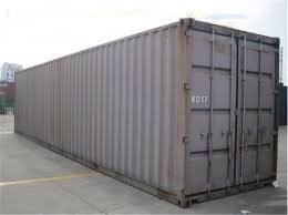 Used Metal Shipping Containers 40gp Steel Dry Storage