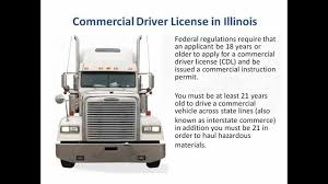 CDL In Illinois - Commercial Drivers License Illinois - YouTube