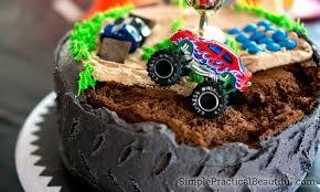 100 Monster Truck Theme Party Birthday Cakes Birthday Simple