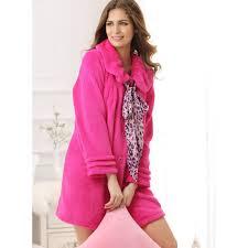 robe de chambre tres chaude pour femme robe de chambre polaire femme pas cher aibrou pyjama femme
