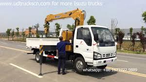 100 Truck Loader 3 Durable ISUZU 4Ton Crane For Goods Transport YouTube
