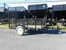 Carry On 5 X 8 Landscape Utility Trailer 3K High Mesh Sides