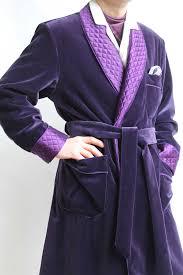 robe de chambre satin homme robe de chambre classique pour homme en velours 100 coton