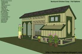 free chicken coop plans for 6 8 chickens 5 chicken coop designs