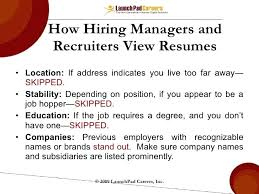 Job Hopping Resume Example How Soon Is Too Hacking Com Overcoming