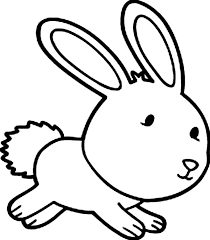 Cute Bunny Coloring Pages Printable
