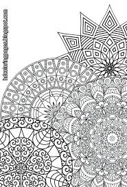 Free Intricate Coloring Pages Printable For Adults Detailed Super Mandalas Adult Print Advanced Large Size