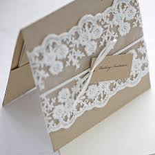 Popular Lace Wedding Invitations 2015