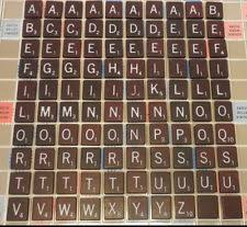 maroon scrabble tiles ebay