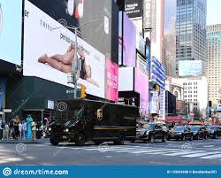 100 Who Makes Ups Trucks UPS Delivery Truck In Times Square In New York City Editorial Stock