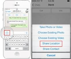 How to Use WhatsApp Location Sharing Feature