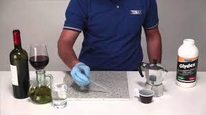 Dupont Bulletproof Tile Sealer by Tenax Glydex Water Based Natural Stone Sealer Youtube