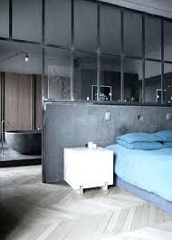 separation salle de bain verriere separation chambre salle de bain suite en demi niveau