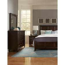 vaughan bassett bonanza queen bedroom group pilgrim furniture