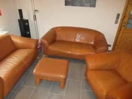couchgarnitur schwarz leder 2er und 3er sofa gebraucht