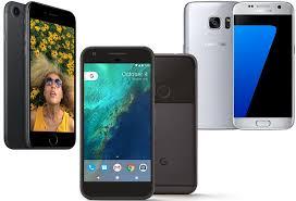Google Pixel vs Apple iPhone 7 vs Samsung Galaxy S7 Price