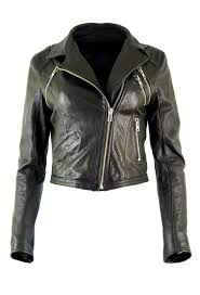 jacket made of grain leather dx