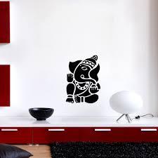 sticker muraux zen sticker mural seigneur ganesha ambiance