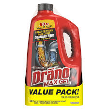 Drano Wont Unclog Kitchen Sink by Amazon Com Drano Max Clog Remover Twin Pack 160 Ounce Health
